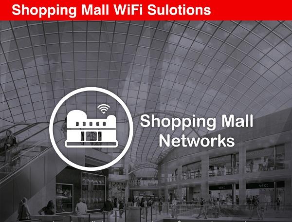 راهکارهای وایفای برای مراکز خرید