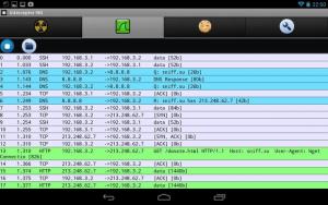 چگونگی مشاهده ی ترافیک شبکه وای فای روی یک دستگاه آندرویدی