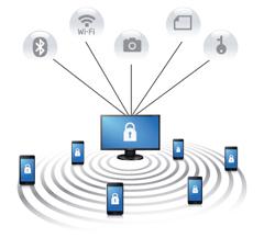 6) مدیریت ابزارهای موبایل (Mobile Device Management)